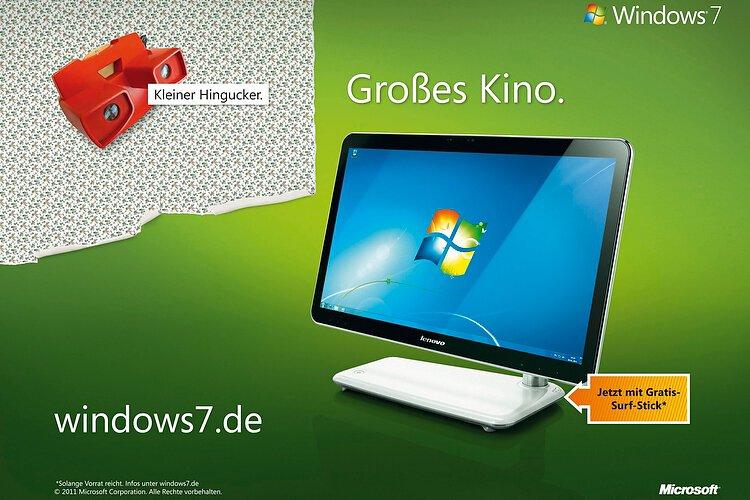 Microsoft Windows 7 Kampagne