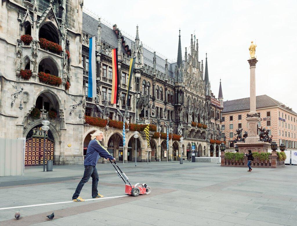ADAC Reisemagazin München - Joachim Massanek Marienplatz