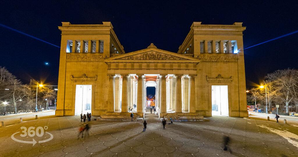 Kunstareal München   - Lichtaktion